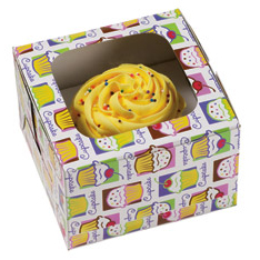 Cupcake Heaven 1 ct. Cupcake Box with Window