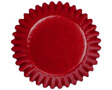 Red Foil Bonbon Baking Cups