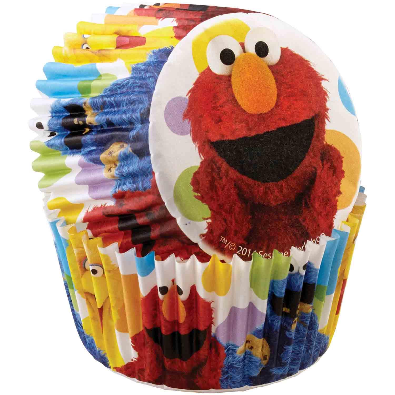 Sesame Street Standard Baking Cups