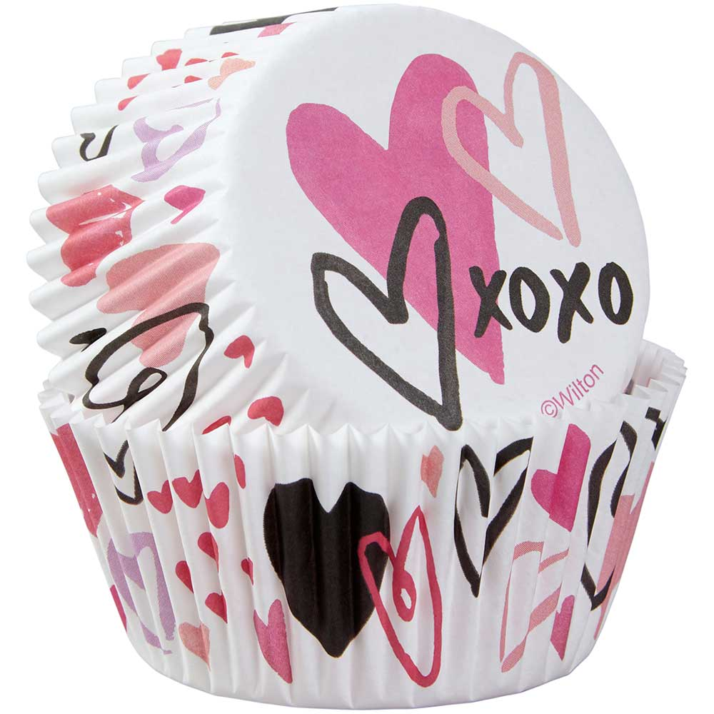 Traditional Valentine Standard Baking Cups
