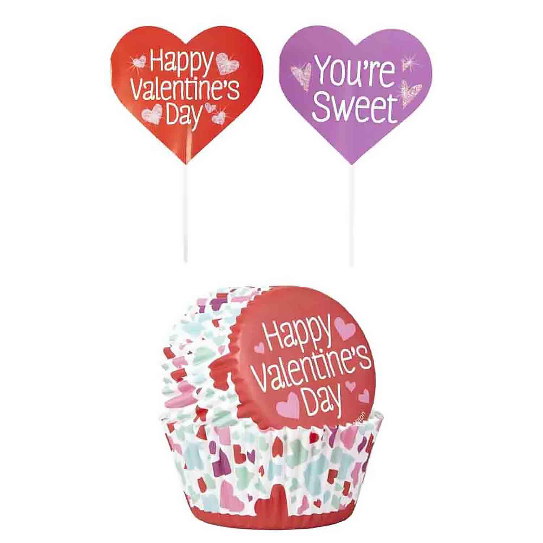 Valentine's Day Cupcake Kit