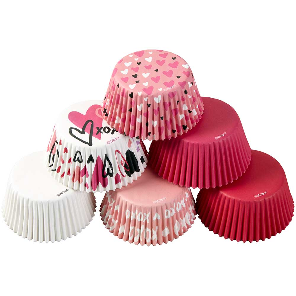 Traditional Valentine Mix Standard Baking Cups