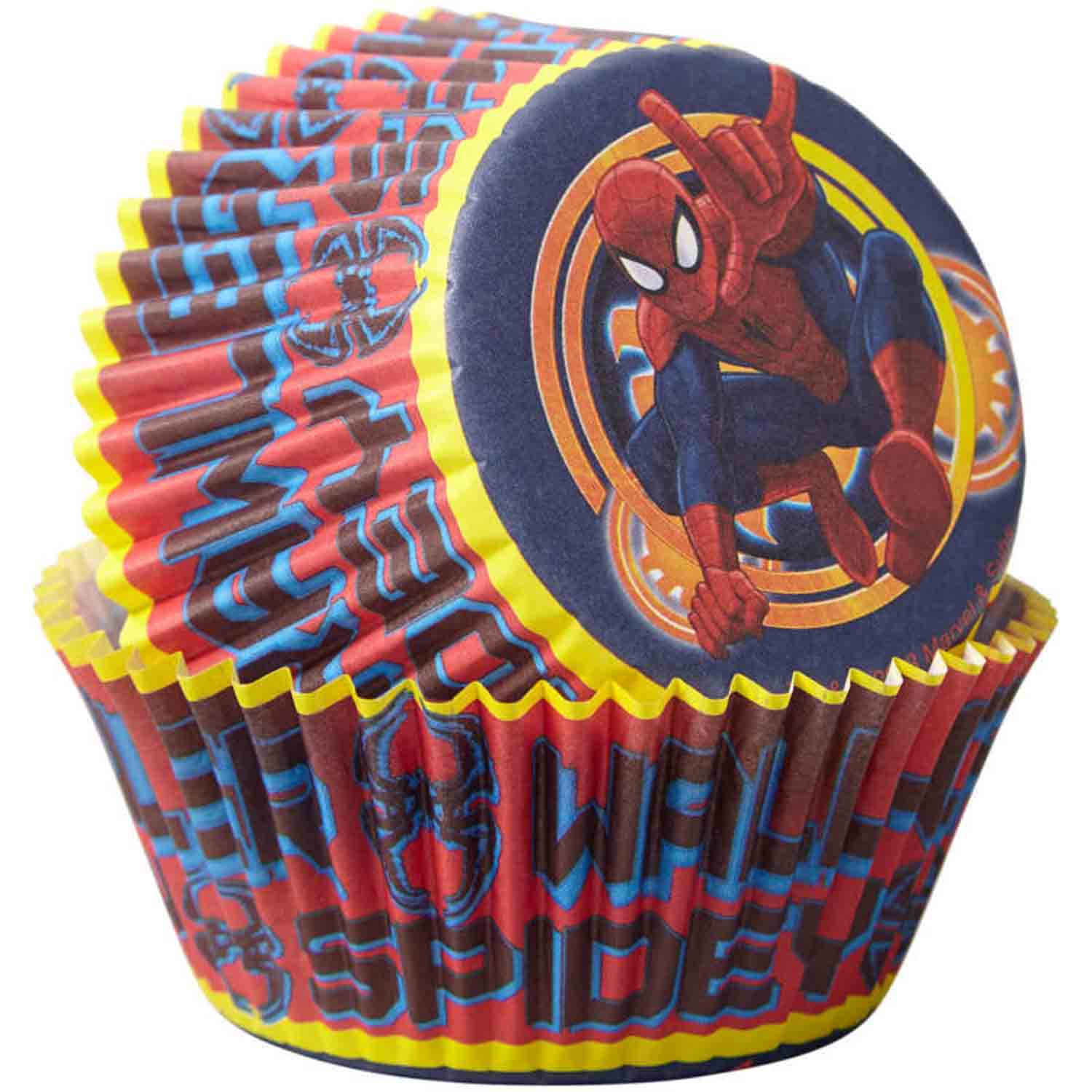 Spiderman Standard Baking Cups