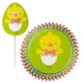 Hop and Tweet Cupcake Combo Kit