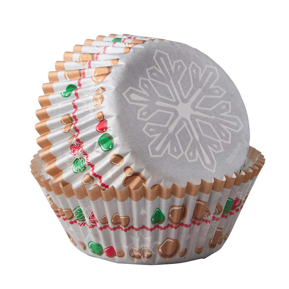 Snowflake Wish Standard Baking Cups