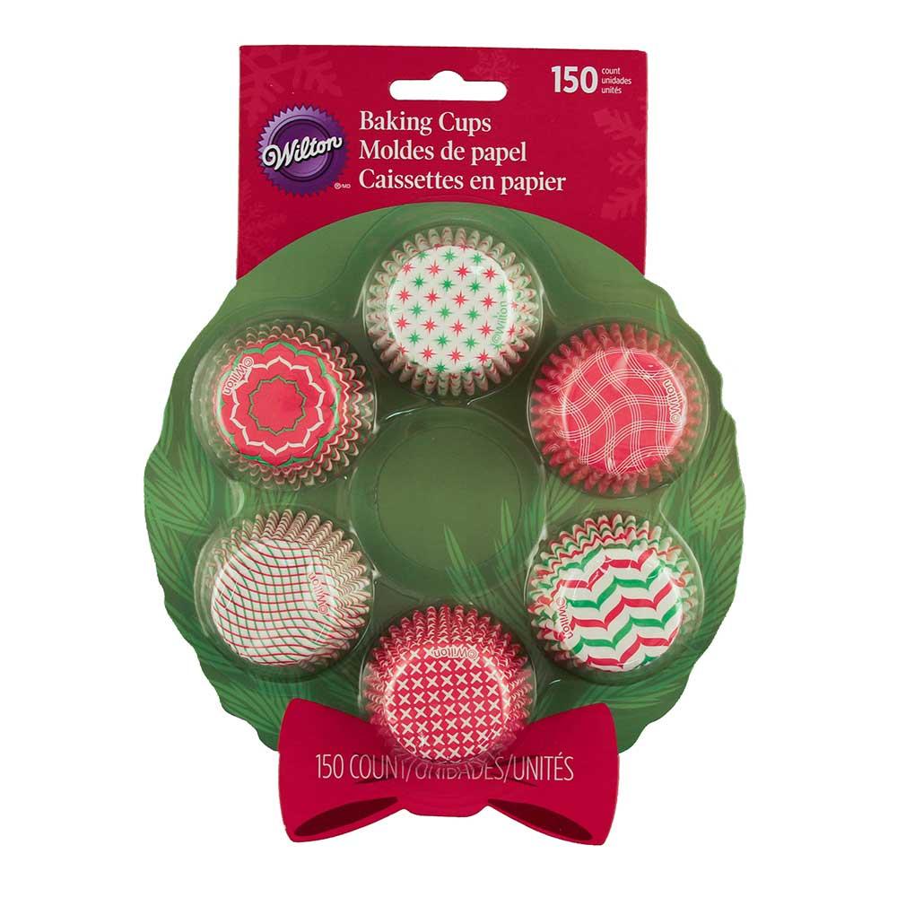 Wreath Mix Mini Baking Cups