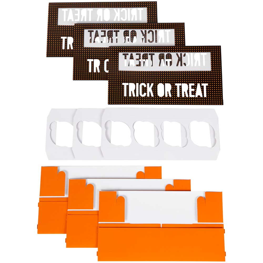 Trick Or Treat Sliding Cupcake Box