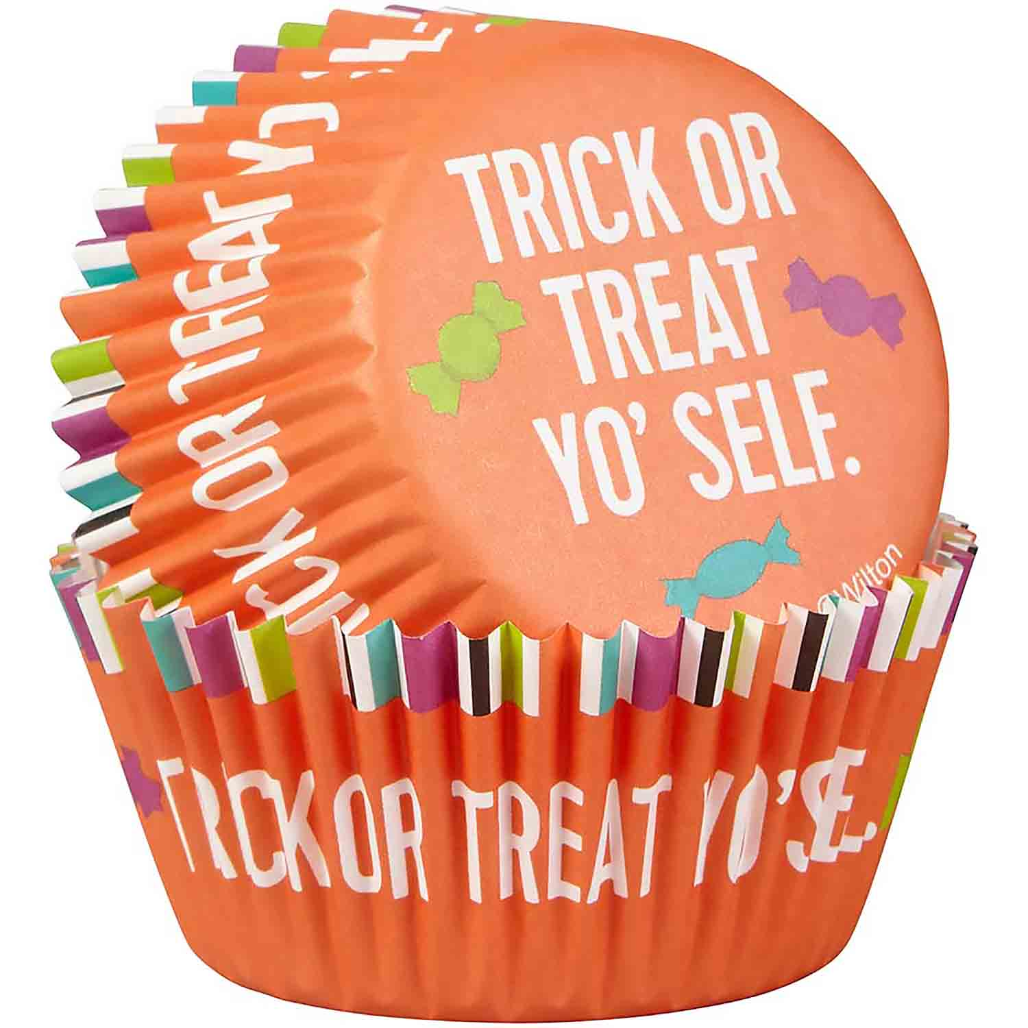 Trick Or Treat Standard Baking Cups