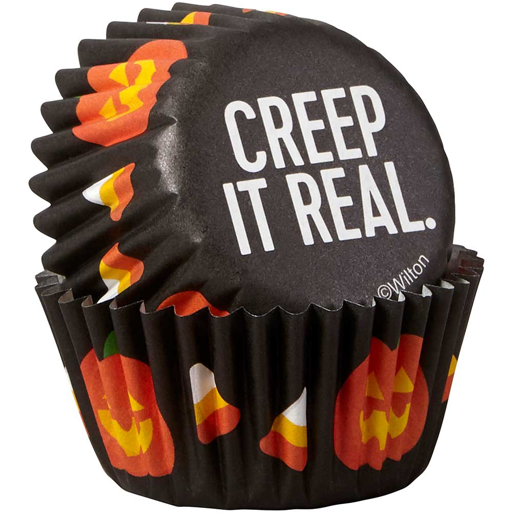 Creep It Real Mini Baking Cups