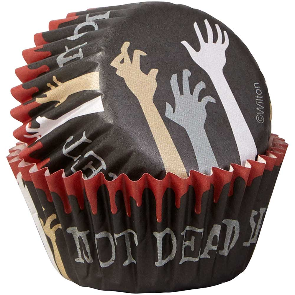 Not Dead Yet Mini Baking Cups