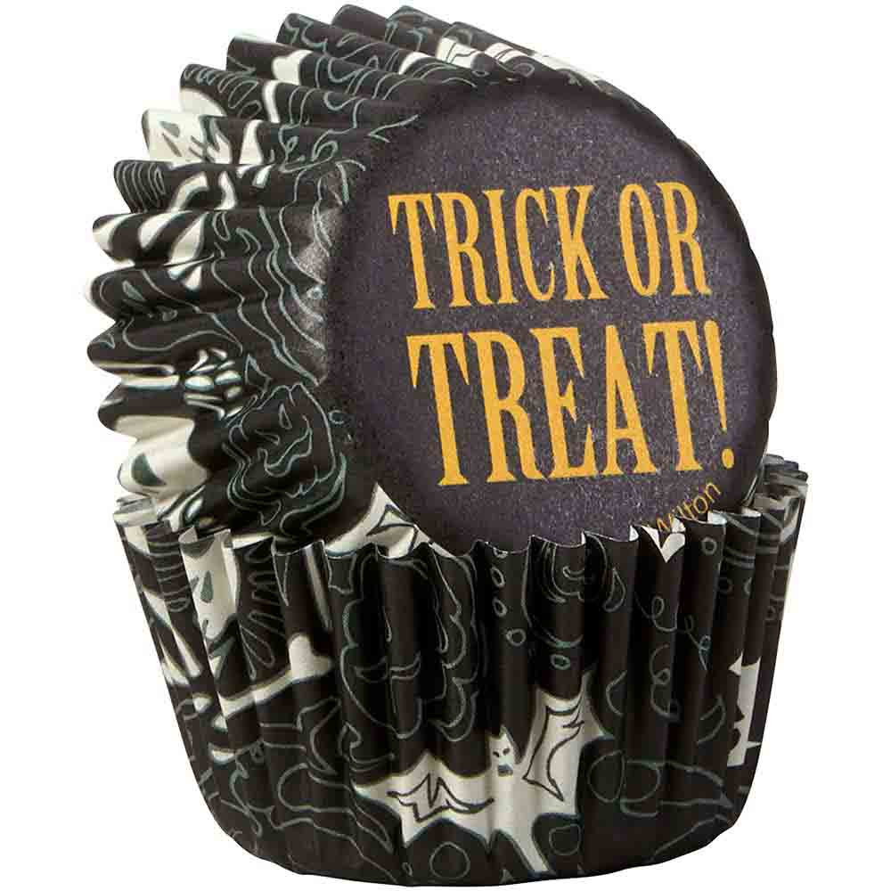 Spooktacular Mini Baking Cups