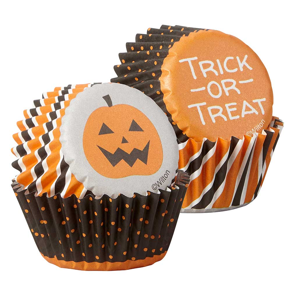 Trick or Treat Mini Baking Cups