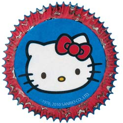 Hello Kitty Standard Baking Cups