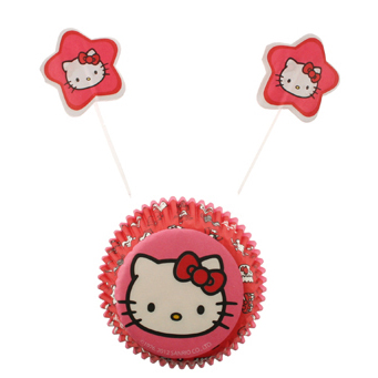 Hello Kitty Cupcake Combo Kit