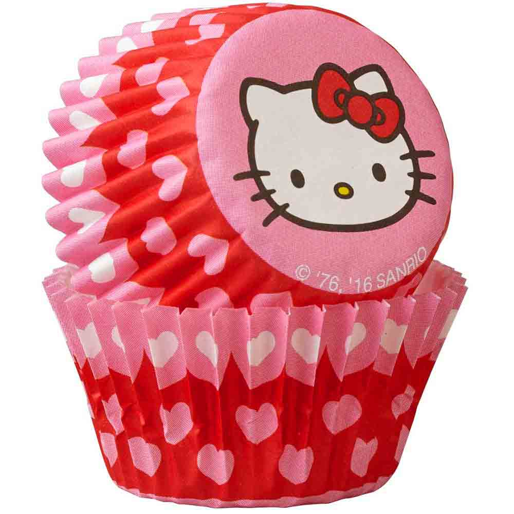 Hello Kitty Mini Baking Cups