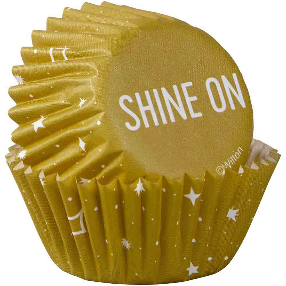 Shine On Mini Baking Cups
