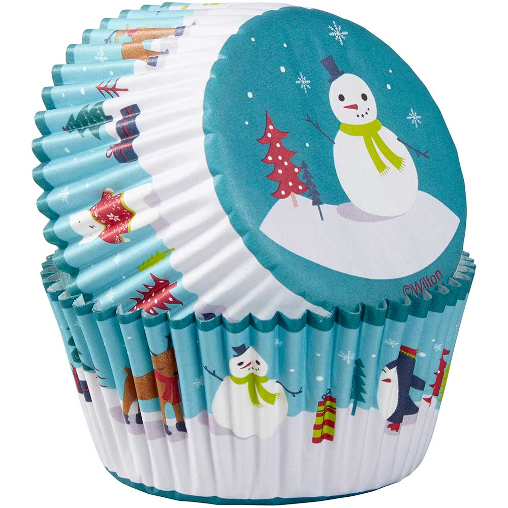 Snowman and Friends Standard Baking Cups