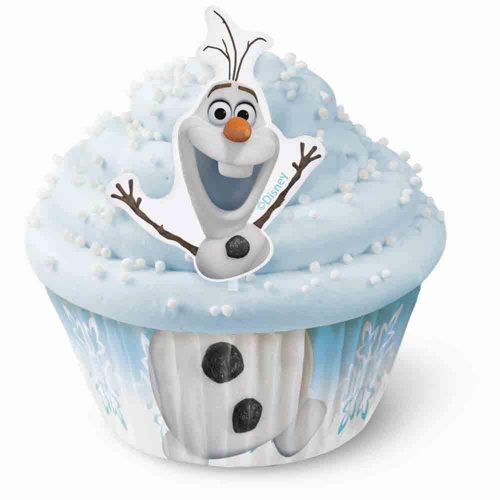 Olaf Cupcake Decorating Kit