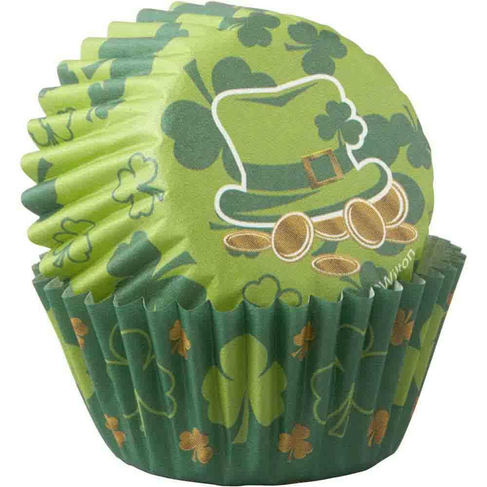 St. Patrick Mini Baking Cups