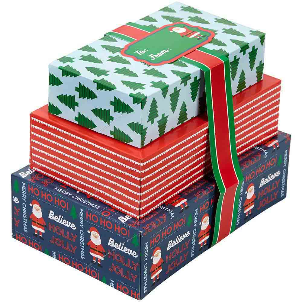Santa Claus Cookie Gift Box Set