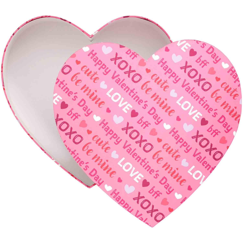 Valentine Heart Shaped Box