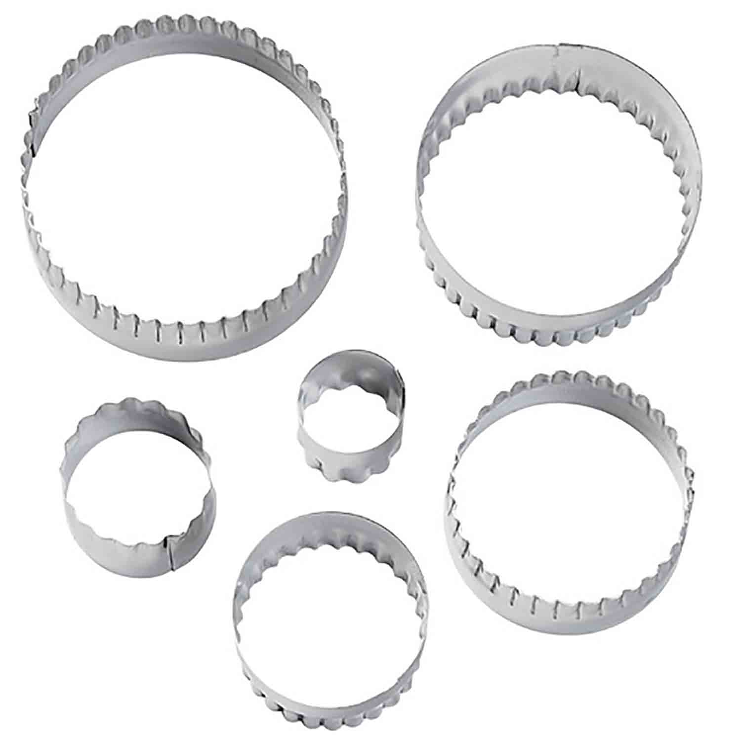 Straight and Fluted Round Cutter Set