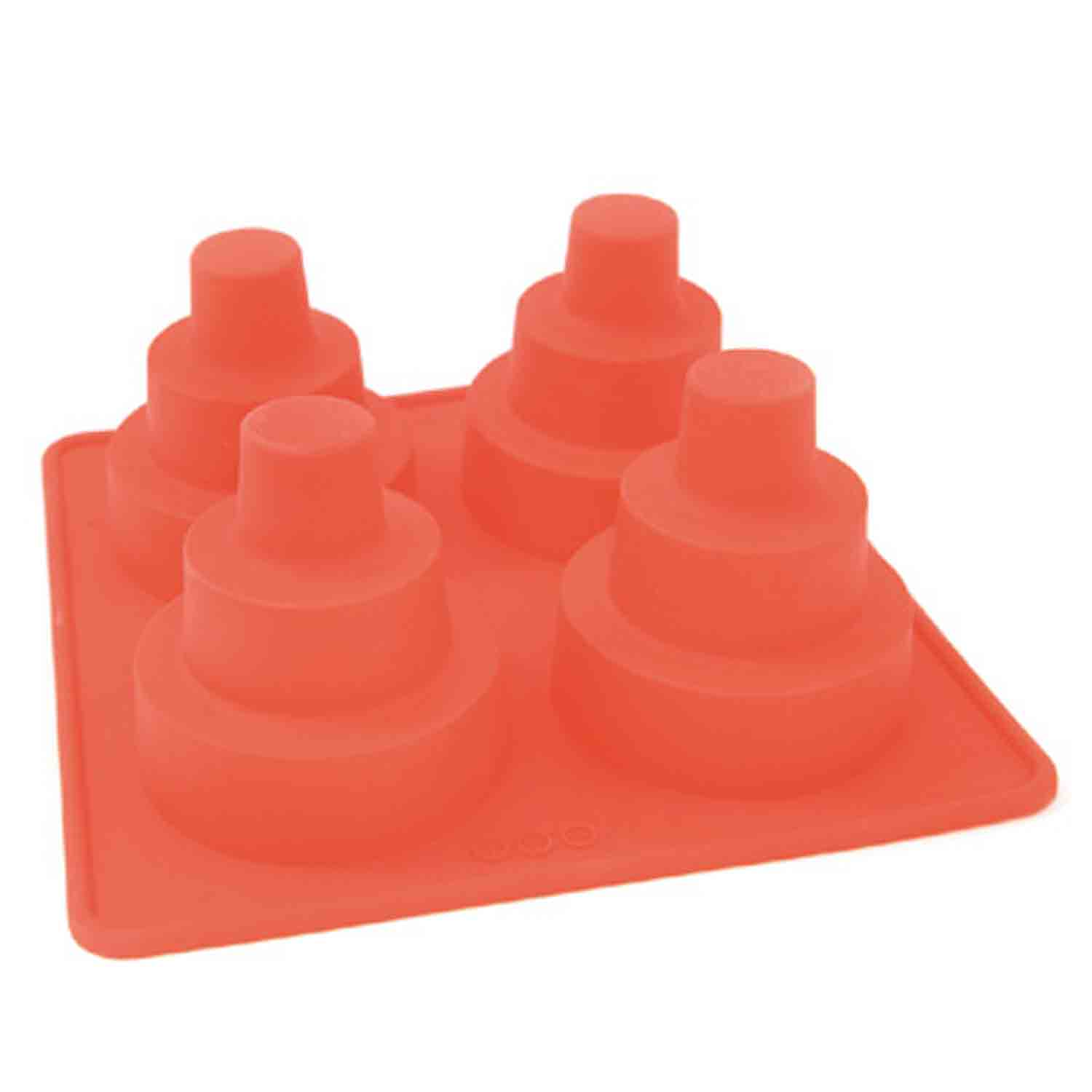 Silicone 3 Tier Mini Wedding Cake Pan 50 235 Country