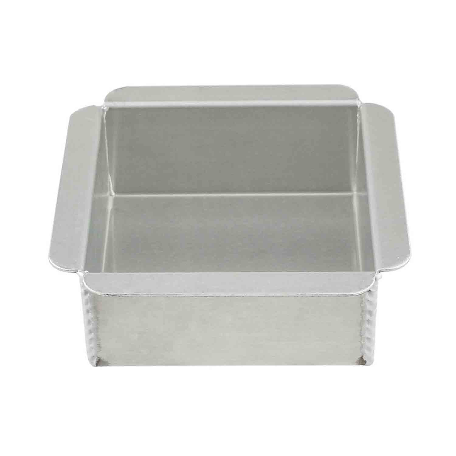 "4 1/2 x 2"" Magic Line Square Cake Pan"