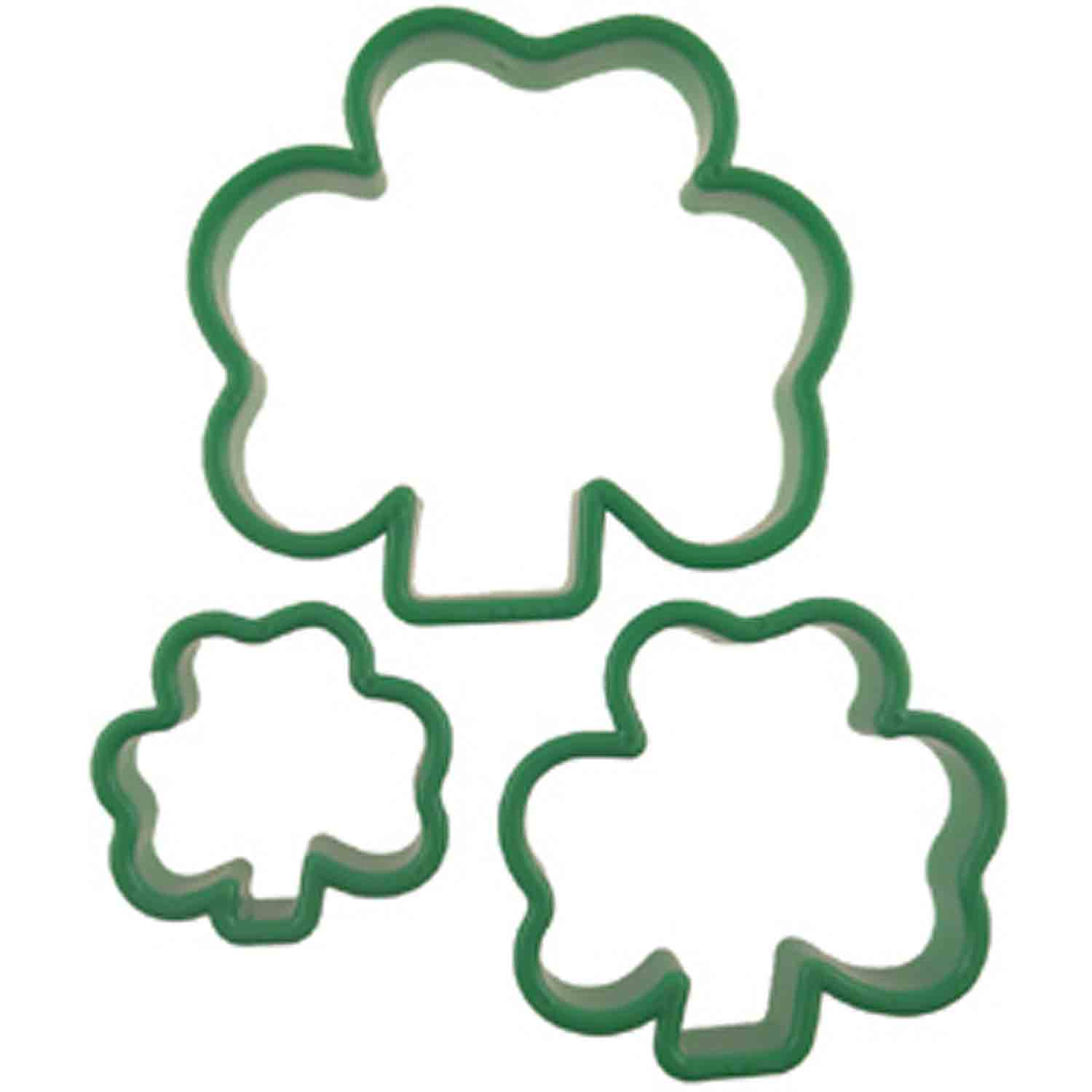 St. Patrick's Day Cookie Cutters/Cookie Molds