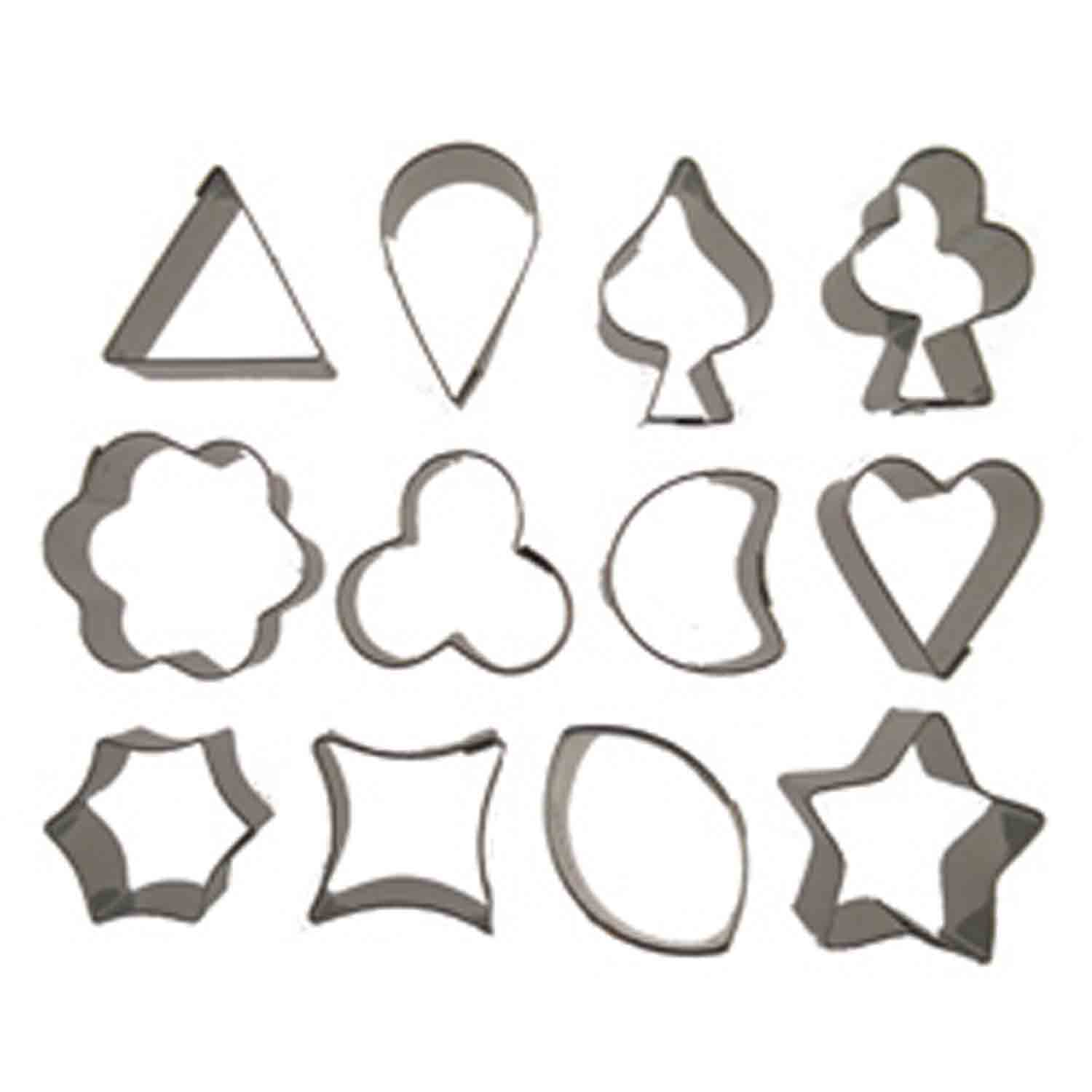 Aspic Cookie Cutter Set-#4847 Small