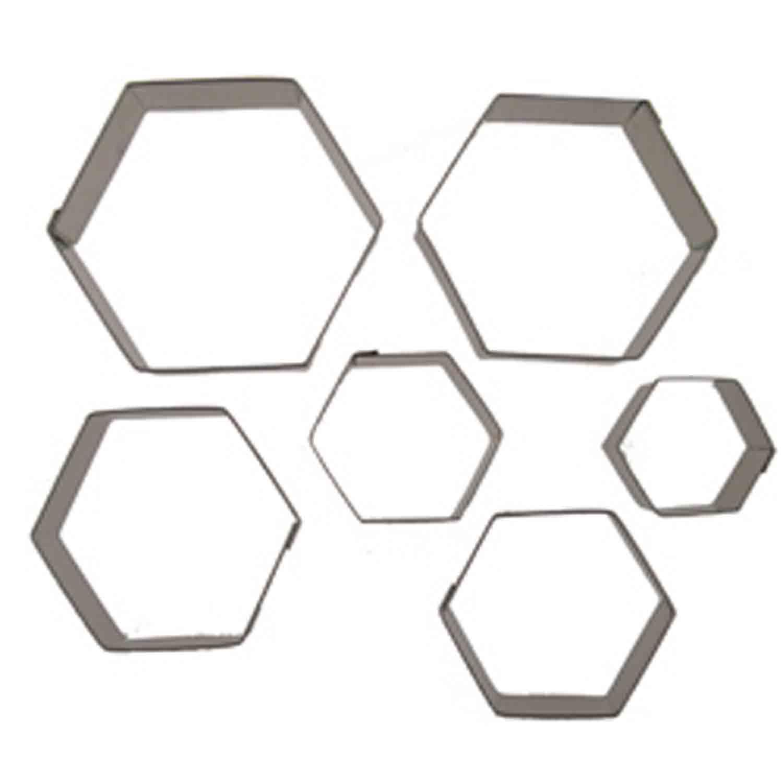 Cookie Cutter Set-Hexagon