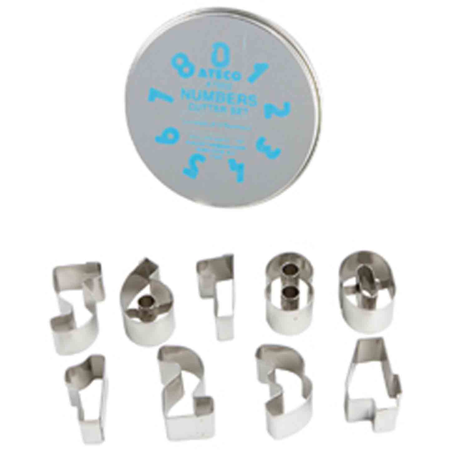 Cookie Cutter Set-Numbers