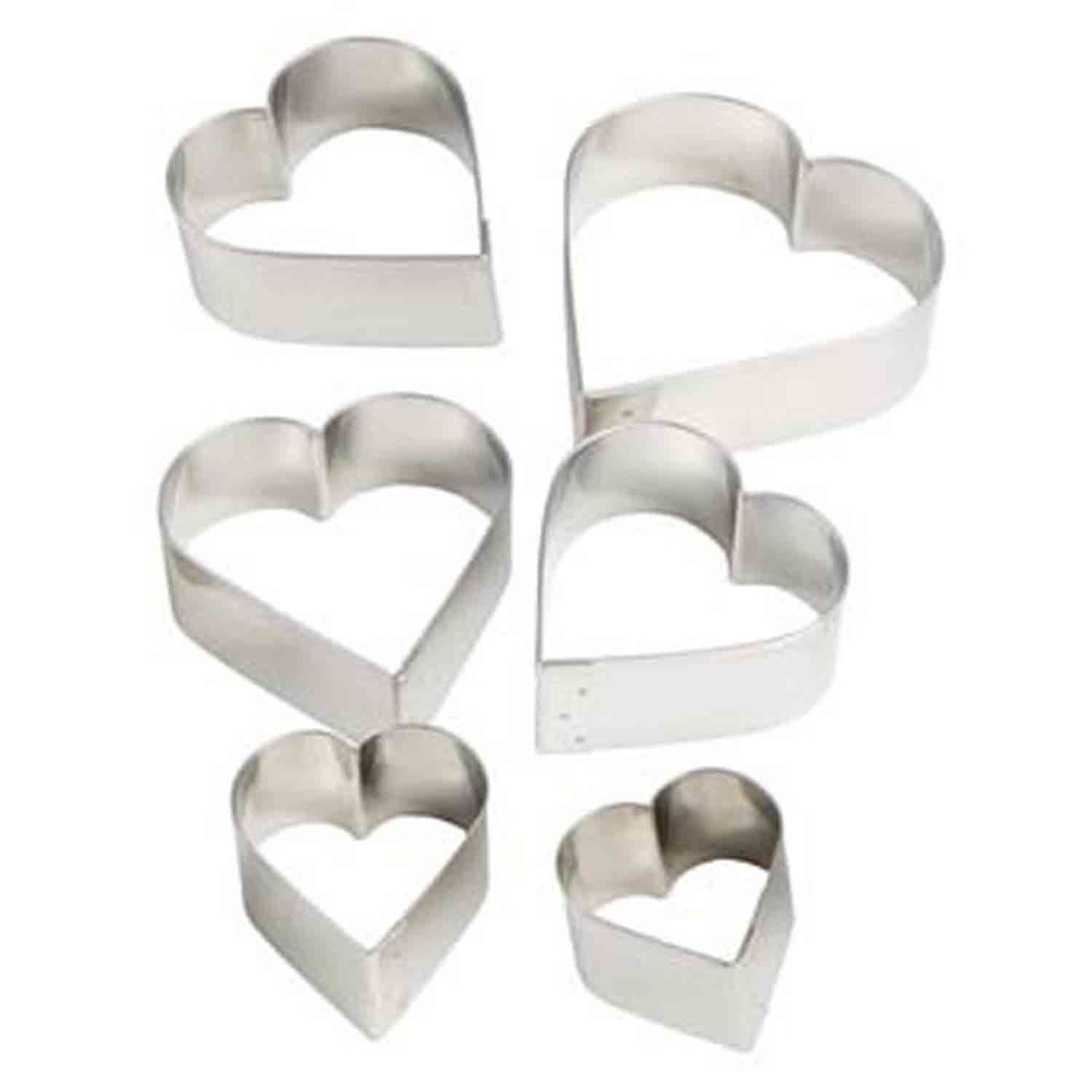Cookie Cutter Set - Hearts