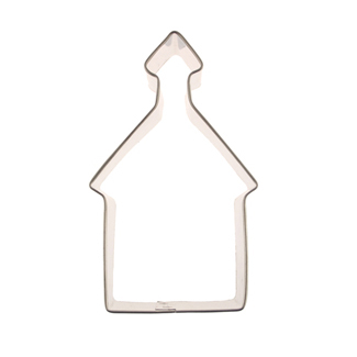 School House Cookie Cutter
