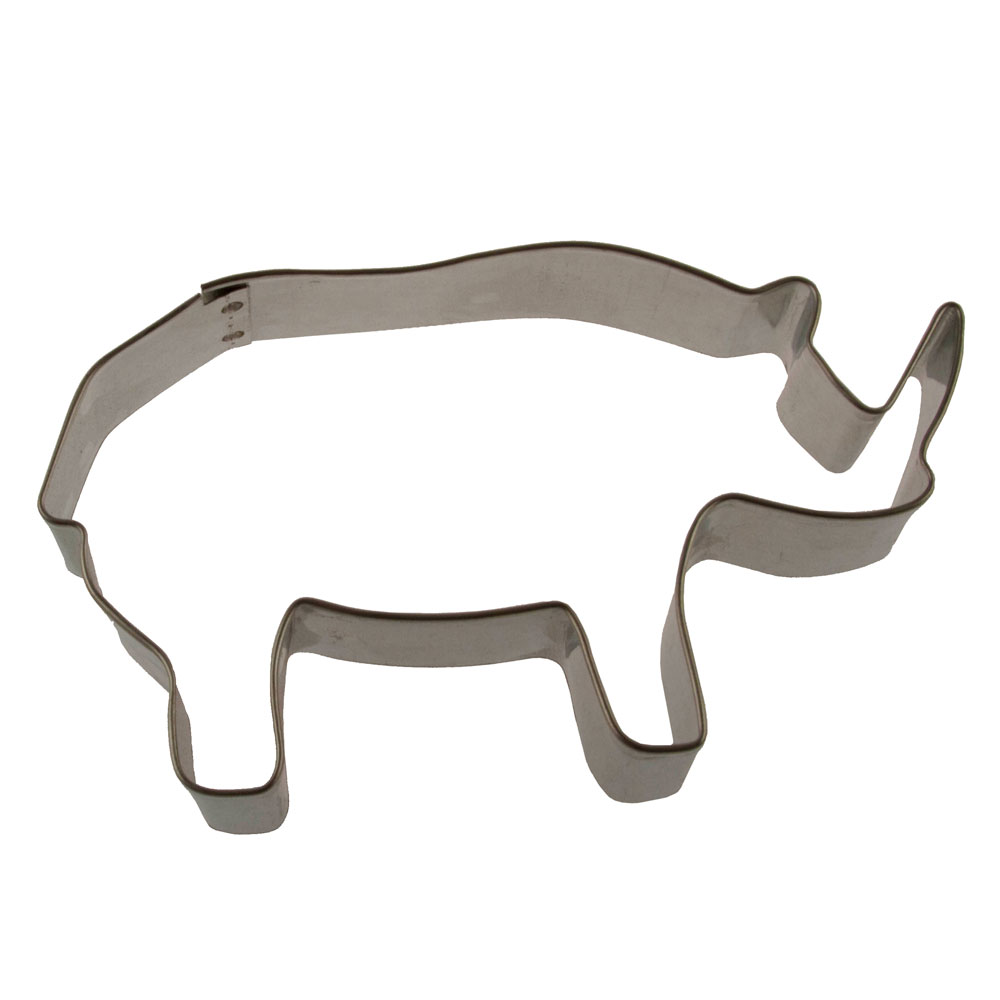 Rhinocerous Cookie Cutter