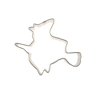 Flying Witch Cookie Cutter