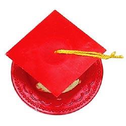 Graduation Hat-Red