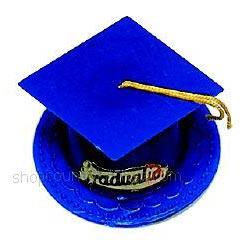 Graduation Hat-Dark Blue
