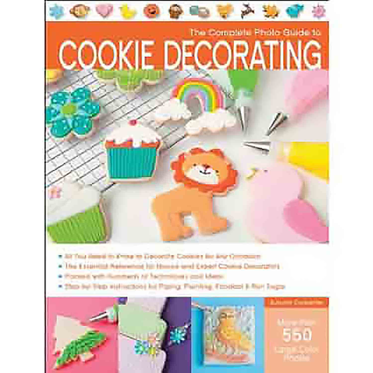 Carpenter - The Complete Photo Guide to Cookie Decorating Book