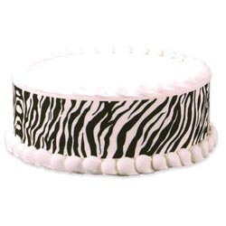 Edible Image® Designer Prints™- Safari Zebra