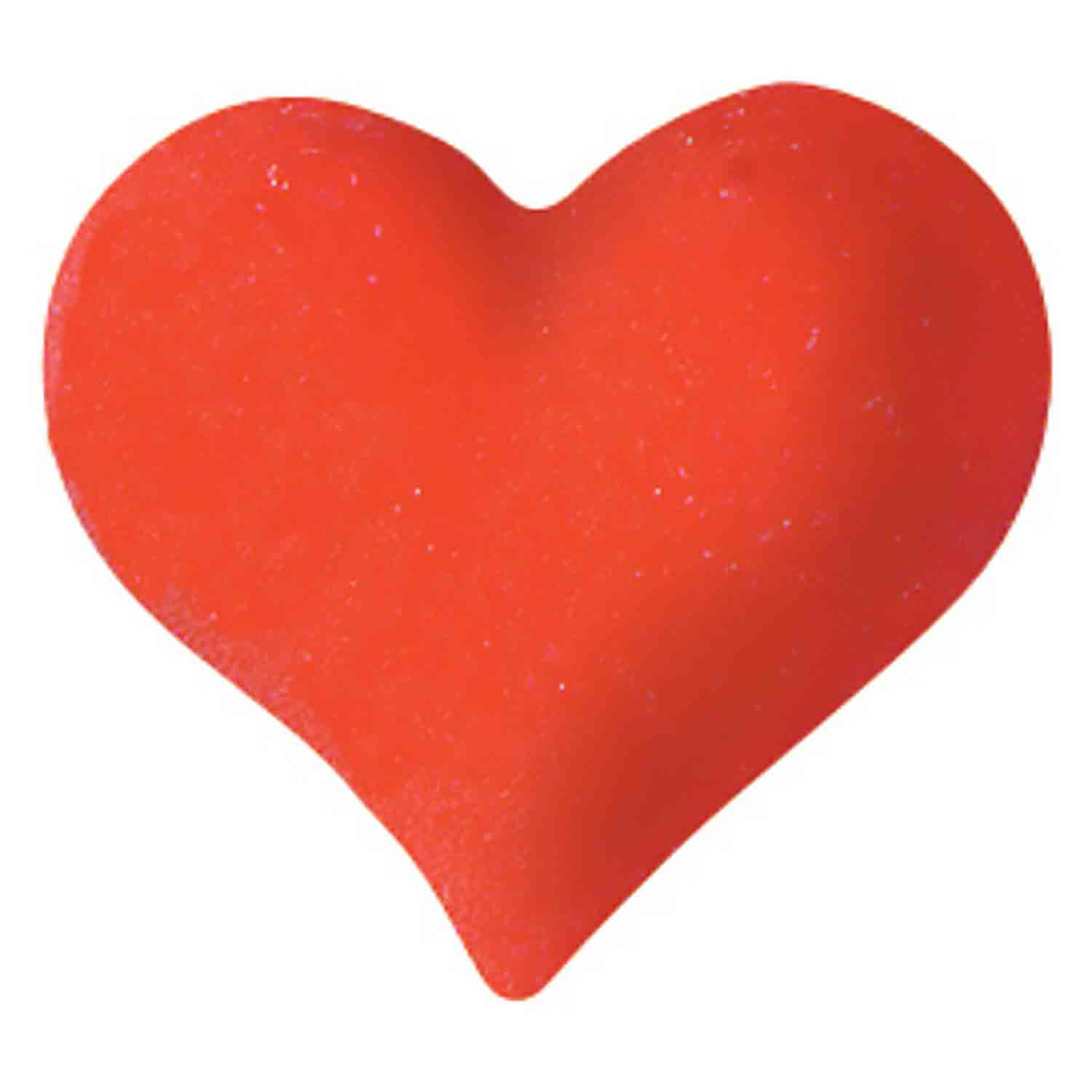 Dec-Ons® Molded Sugar - Red Heart