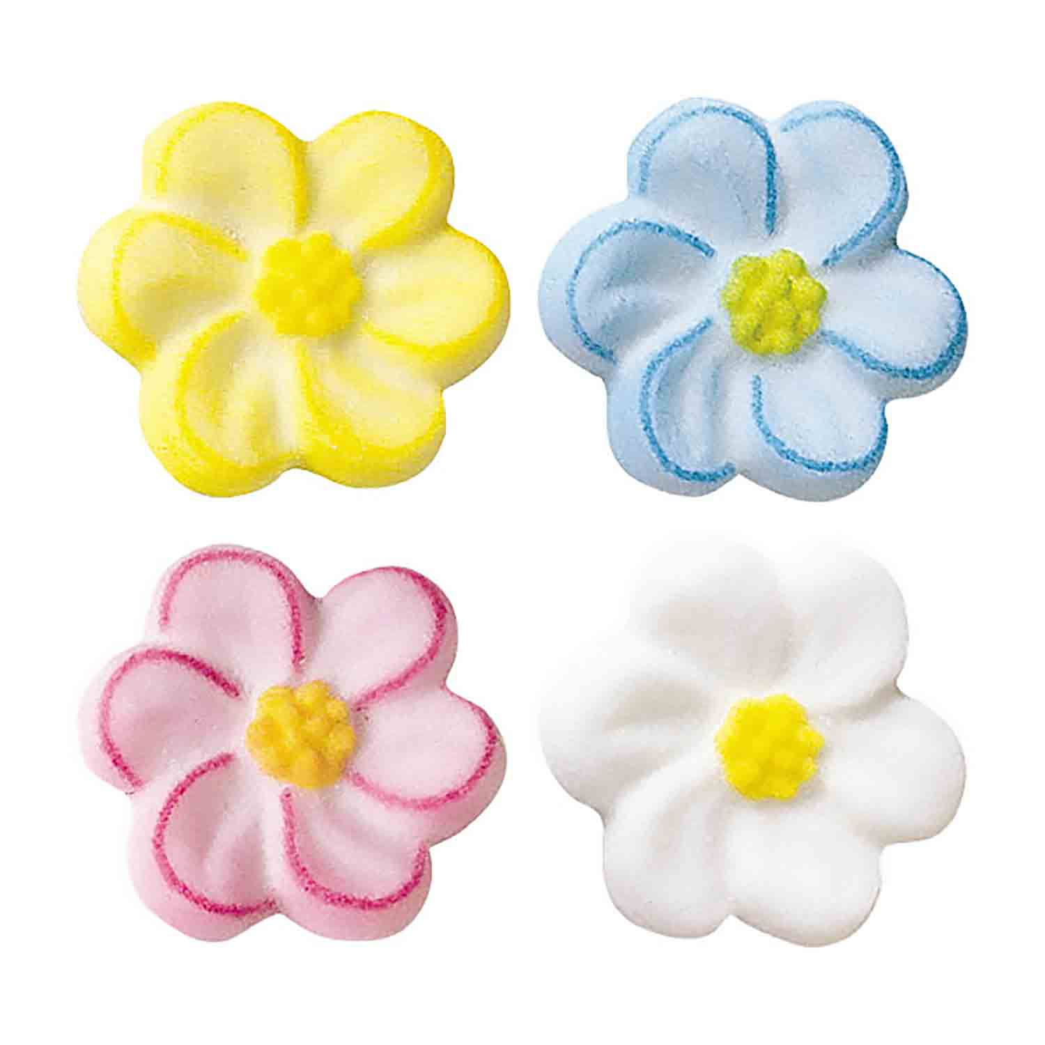 Dec-Ons® Molded Sugar - Blossom Assortment