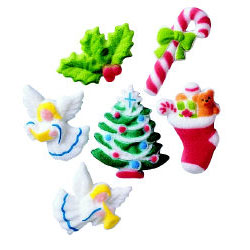 Dec-Ons® Molded Sugar - Christmas Assortment
