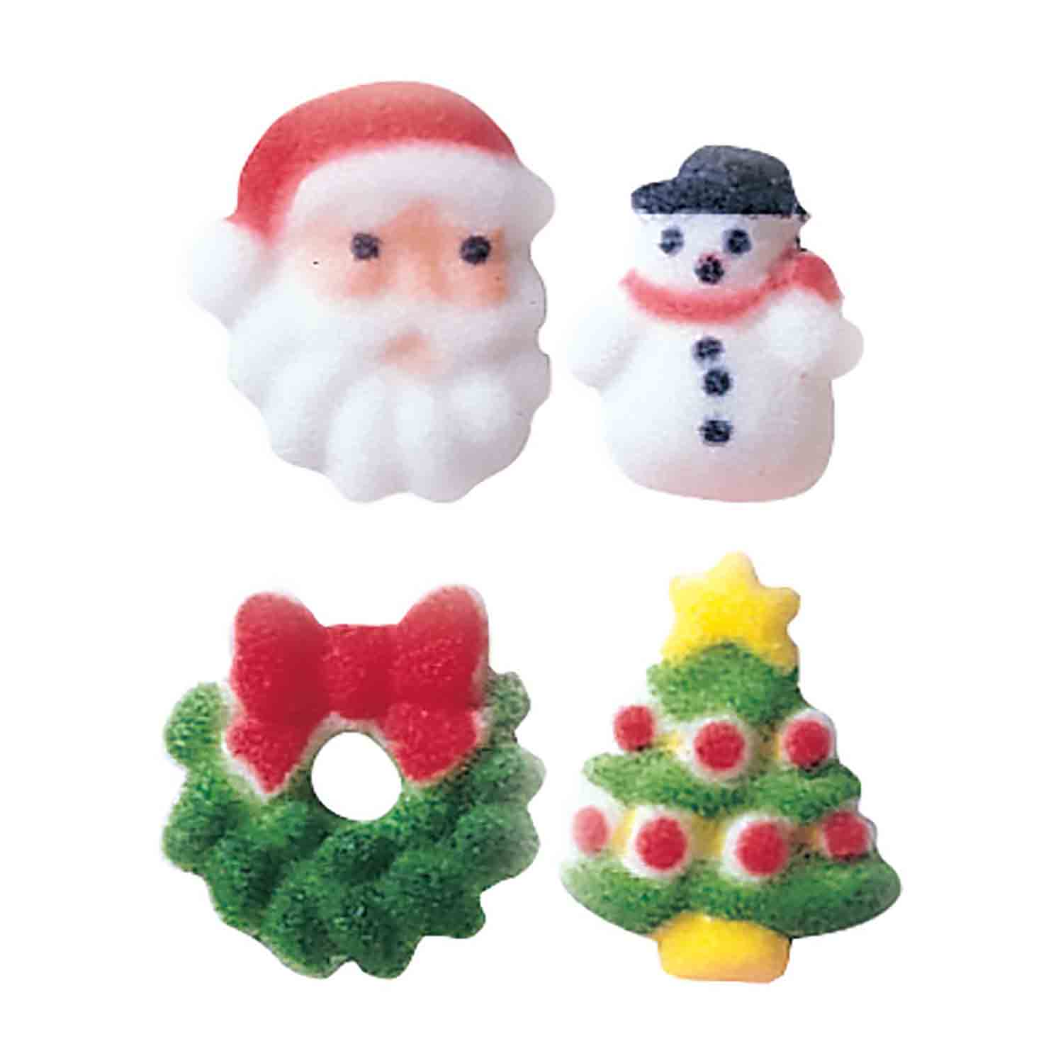 Dec-Ons® Molded Sugar - Christmas Charm