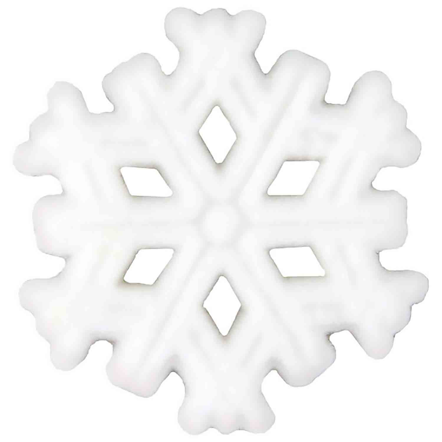 Dec-Ons® Molded Sugar- Snowflakes