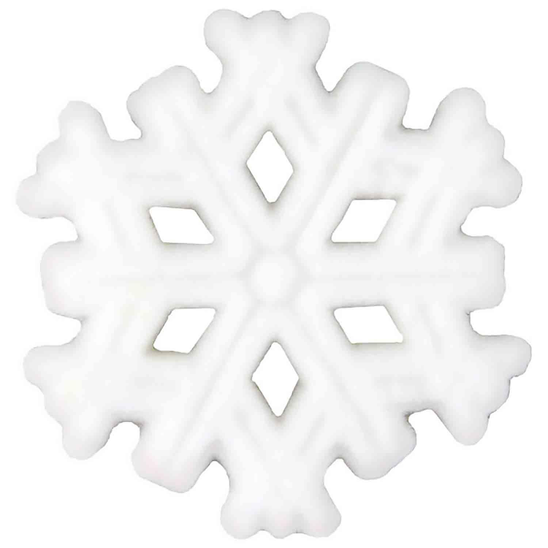 Dec-Ons® Molded Sugar- Snowflakes
