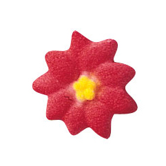Dec-Ons® Molded Sugar - Poinsettia