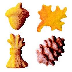 Dec-Ons® Molded Sugar - Fall Assortment