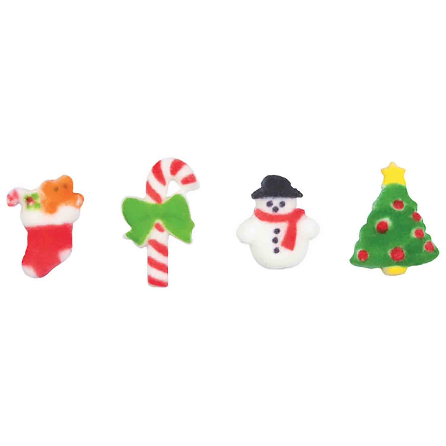 Dec-Ons® Molded Sugar - Christmas Mini