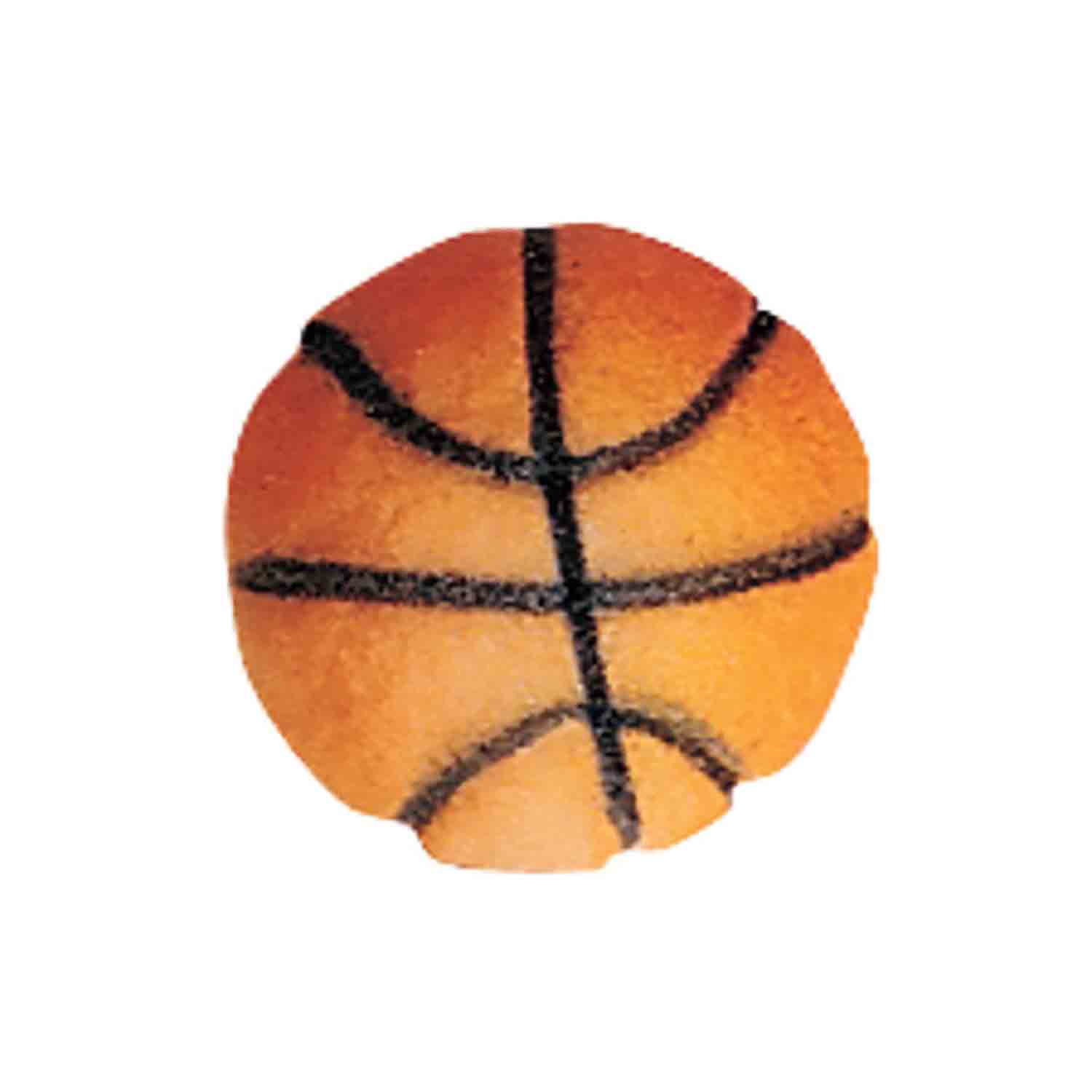Dec-Ons® Molded Sugar - Basketball